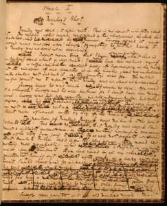 Pattern of genius: Dickens's original manuscript