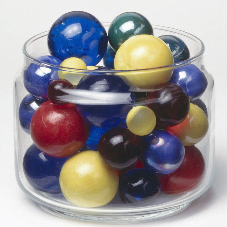Jar Of Marbles Story : How to design a useful yardstick daniel coyle
