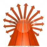 stock-photo-bunch-of-red-glassy-arrows-diverging-in-all-directions-38484133